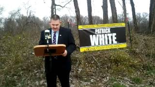 Patrick White talks Issues!