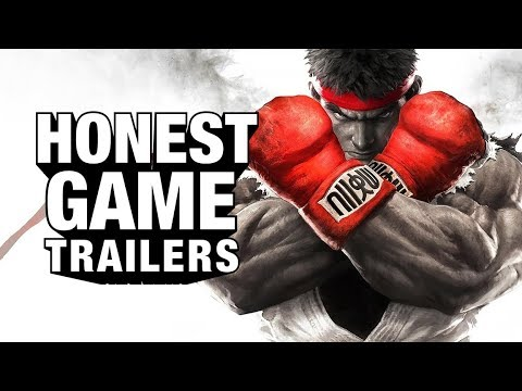 Download Youtube: STREET FIGHTER V (Honest Game Trailers)