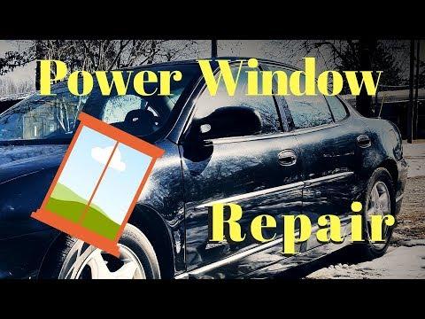 Pontiac Grand Prix Window Regulator Replacement