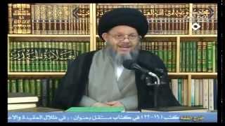 السيد المرتضى: لم يفهم كل الصحابة تنصيب الامام علي يوم الغدير :: كمال الحيدري