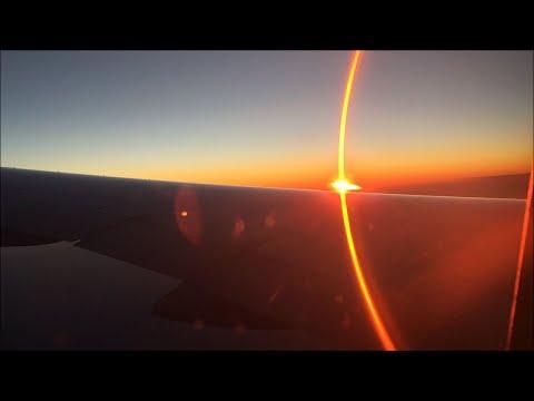 Flight | AF037 New York JFK to Paris Orly  | Full Sunset