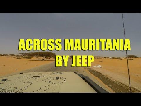 Across Mauritania by Jeep