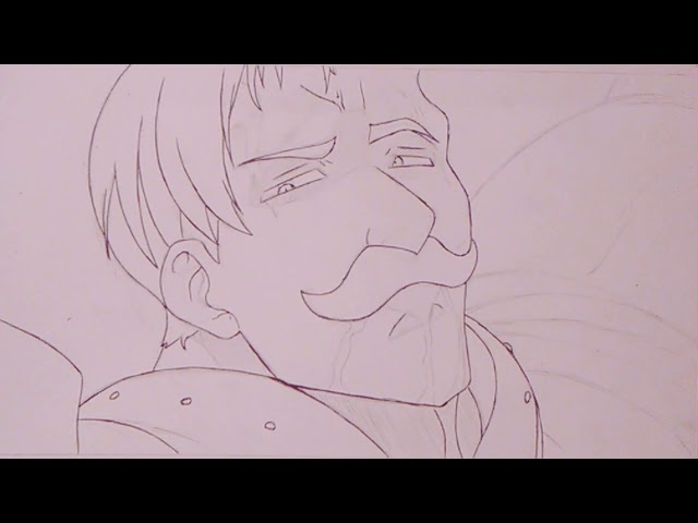 Speed Drawing Escanor   Nanatsu no Taizai
