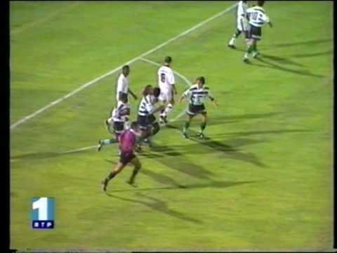 Sporting - 4 x Vasco da Gama - 0 de 1996/1997 Particular a 31-07-1996