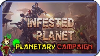 INFESTED PLANET | Planetary Campaign | 8 | Top Down Sci-FI RTS Game