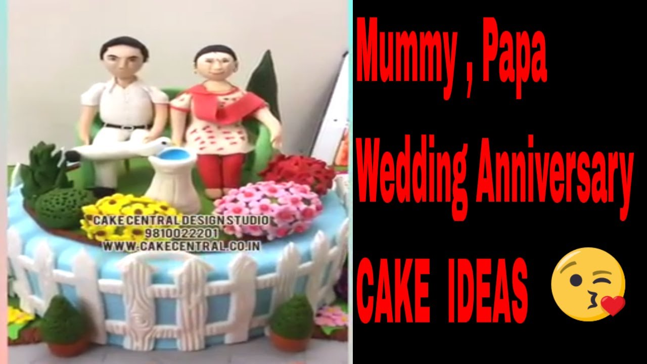 A Wedding Anniversary Cake For Parents Grandparents Anniversary Cakes In Delhi Online Youtube