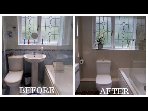 Small Bathroom Total Makeover/Renovation