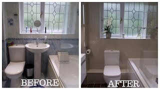 Small Bathroom Total Makeover/Renovation
