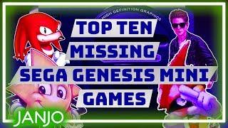Top Ten Missing Sega Genesis Mini Games - Janjo