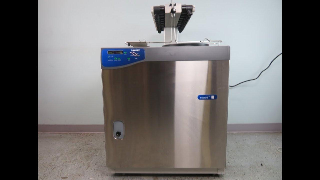 Labconco Freezone Plus 12 Liter Console Freeze Dryer