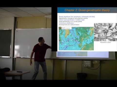 Geophysical Fluid Dynamics 2: Quasi-geostrophic theory
