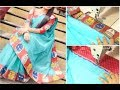 Hand Made Boutique Style Sari Simple & Easy To Make (DIY) English