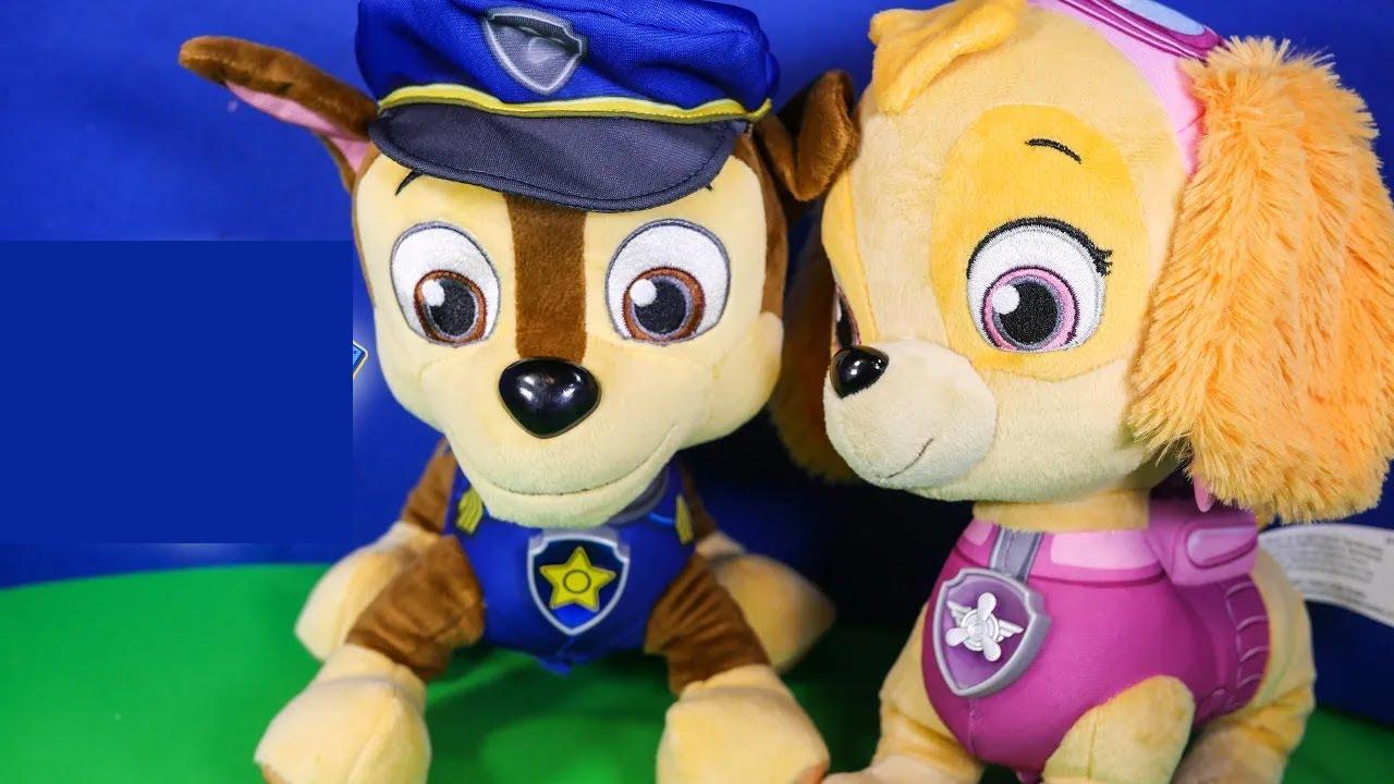 PAW PATROL Nickelodeon Paw Patrol Skye & Chase Talking