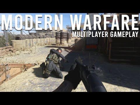 Modern Warfare Multiplayer Gameplay