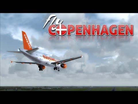 ✈  FSX  easyJet A320 to Kastrup, Copenhagen