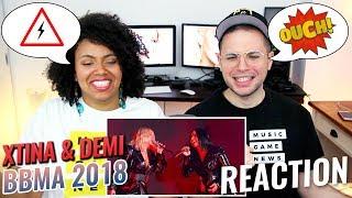 Christina Aguilera & Demi Lovato – Fall In Line   BBMA 2018   REACTION