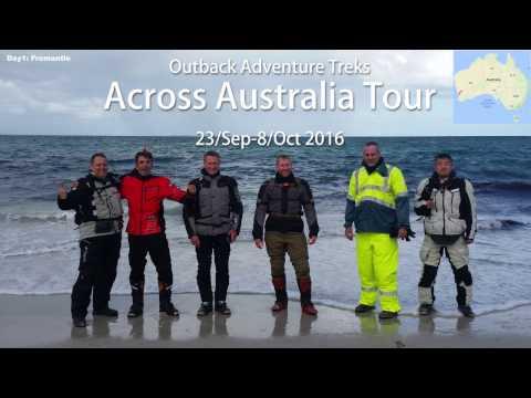 Across Australia Tour 2016.