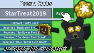 ALL WORKING CODES IN ROBLOX BEE SWARM SIMULATOR 2019 *UPDATED*