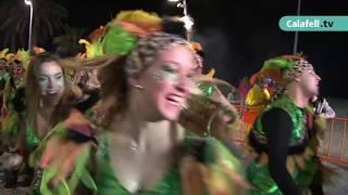 Carnaval Xurigué 2018, rua de Calafell Platja