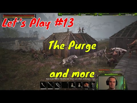 THE PURGE - New Content Update - Let's Play Conan Exiles Testlive PvP 2018 #13