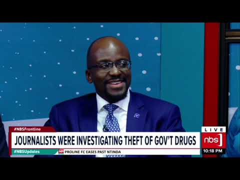 NBS Frontline : Police Hunt for Investigative Journalist Sserwanja 7th feb 2019