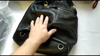 Женская сумка рюкзак из натуральной кожи Шикарный стиль и качество по разумной цене трубэг