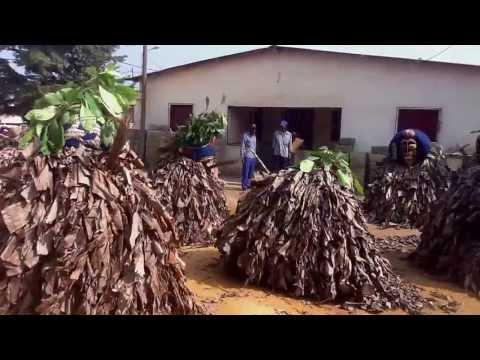 Dança dos Bakamas do Tchizo (Cabinda-Angola)