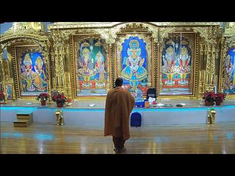 Sunday Sabha Swaminarayan Temple, Wheeling, IL 12/27/2015
