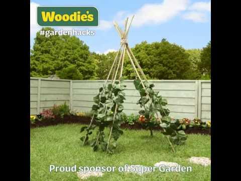 Kidu0027s Garden Teepee