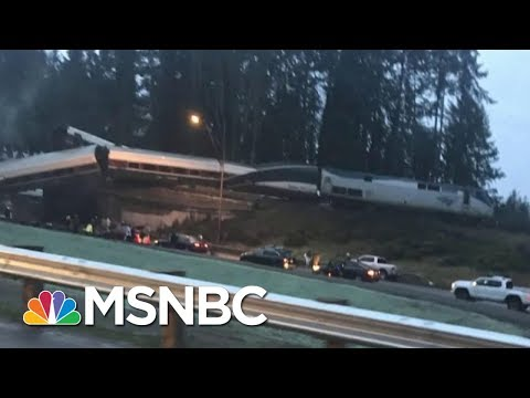 Amtrak Train Derailment Eyewitness: 'Our Car Went Down An Embankment' | Velshi & Ruhle | MSNBC