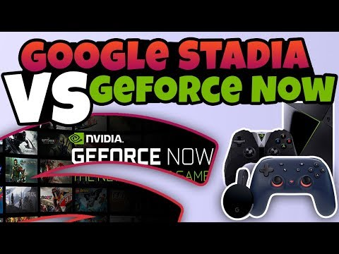 Lets Compare Google Stadia VS Nvidia Geforce Now