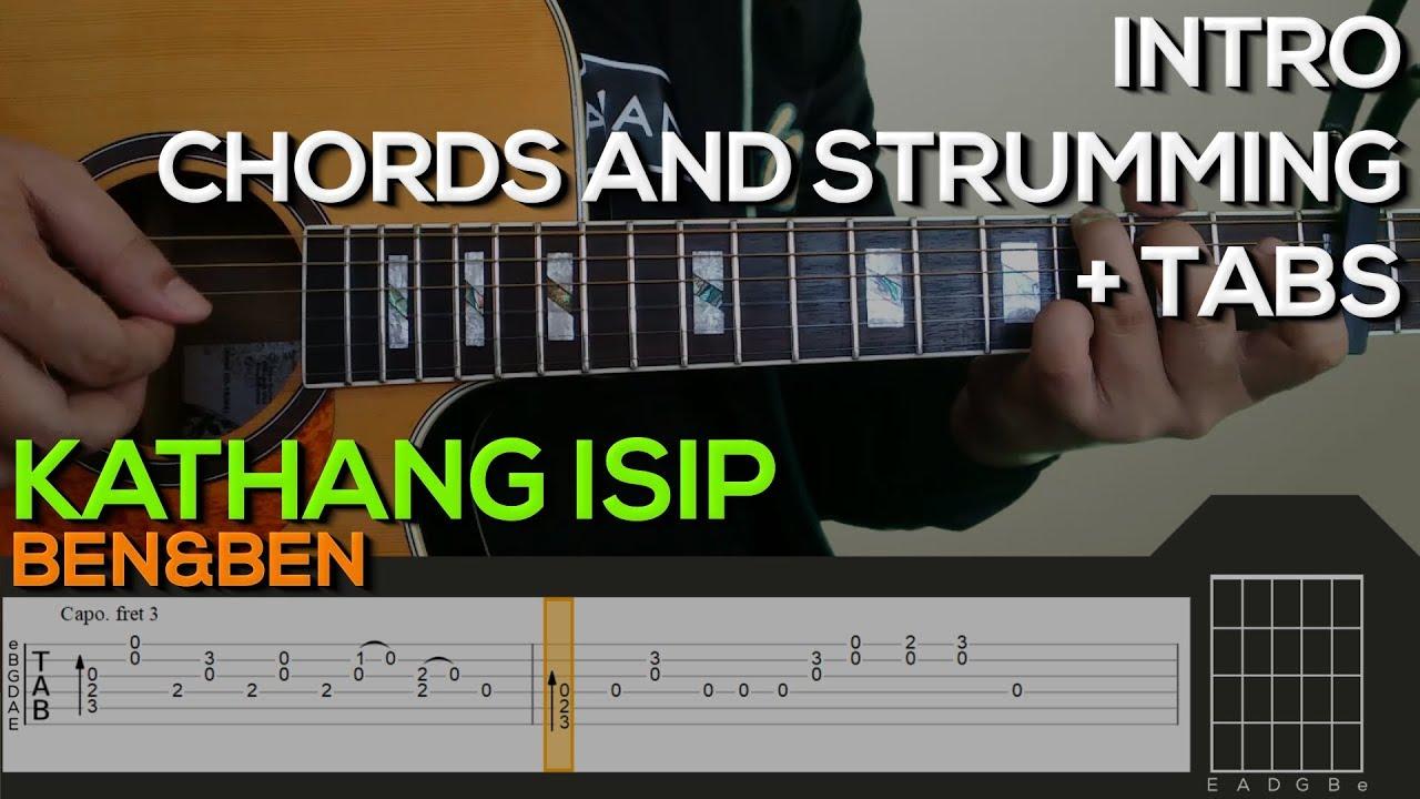 Benben Kathang Isip Guitar Tutorial Intro Chords And Strumming