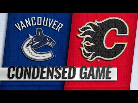 09/22/18 Condensed Game: Canucks @ Flames