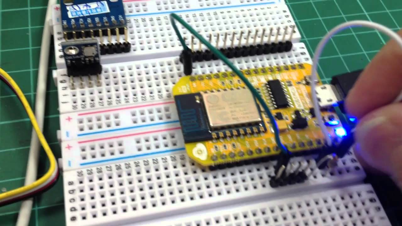 Playing With Raspberry Pi, Arduino, NodeMcu, and