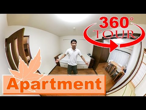 Japanese Apartment Tour in 360