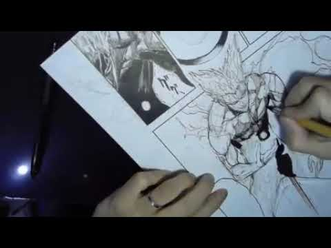 Yusuke Murata Live drawing spring 2018 #3