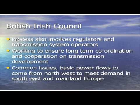 Martin Finucane on The North Seas Countries' Offshore Grid Initiative