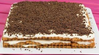Печенье, сметана и бананы - это все что вам понадобится для торта! | Appetitno.TV