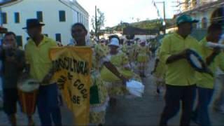 Samba de Coco de Japoatã-SE no Encontro Cultural de Laranjeiras-SE de 2009