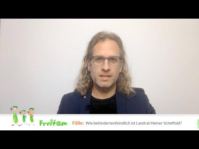 Fall Julia F.: Wie behindertenfeindlich ist Heiner Scheffold, Landrat im Alb-Donau-Kreis?