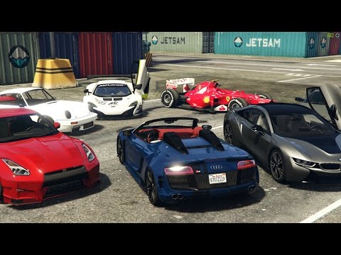 GTA 5 Real Super/Sports Car Mods   YouTube