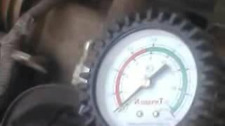 видео компрессия в цилиндрах двигателя норма