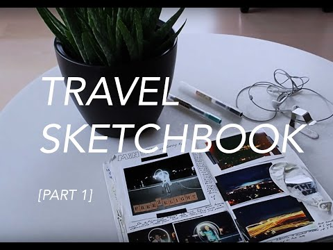 TRAVEL | Travel sketchbook ideas