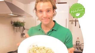 Google Hangouts Cooking: Prawn And Prosciutto Linguine | Hellofresh