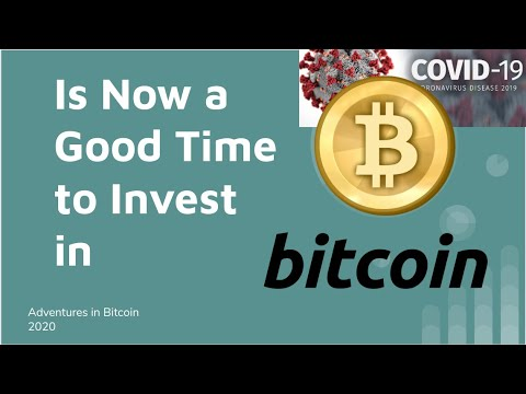 Investing now in bitcoin