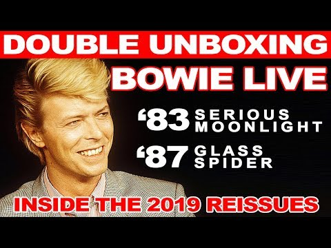 New David Bowie Live Album Reissues Unboxed: Serious Moonlight & Glass Spider Mp3