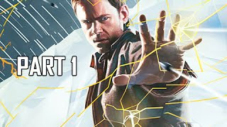 Quantum Break Walkthrough Part 1 - Act 1-1 : The Number One Killer is Time (XBOX One Let's Play)