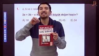 1) İlyas GÜNEŞ - Temel Kavramlar TEST - I (TYT Matematik Soru Çözüm) 2019