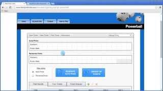 Powerball Software - Personal Picks Powerball