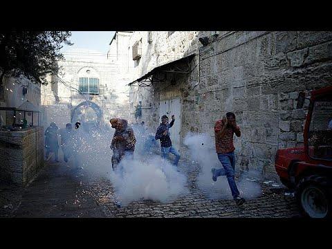 Kudüs'te çatışmalar yeniden alevlendi